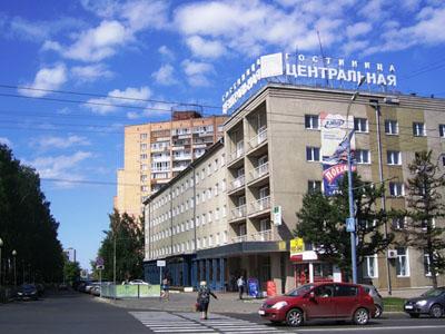 Лифт в Центр. гостинице, Ижевск