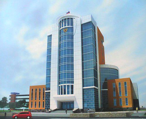 Проект здания Верховного Суда УР в г. Ижевске